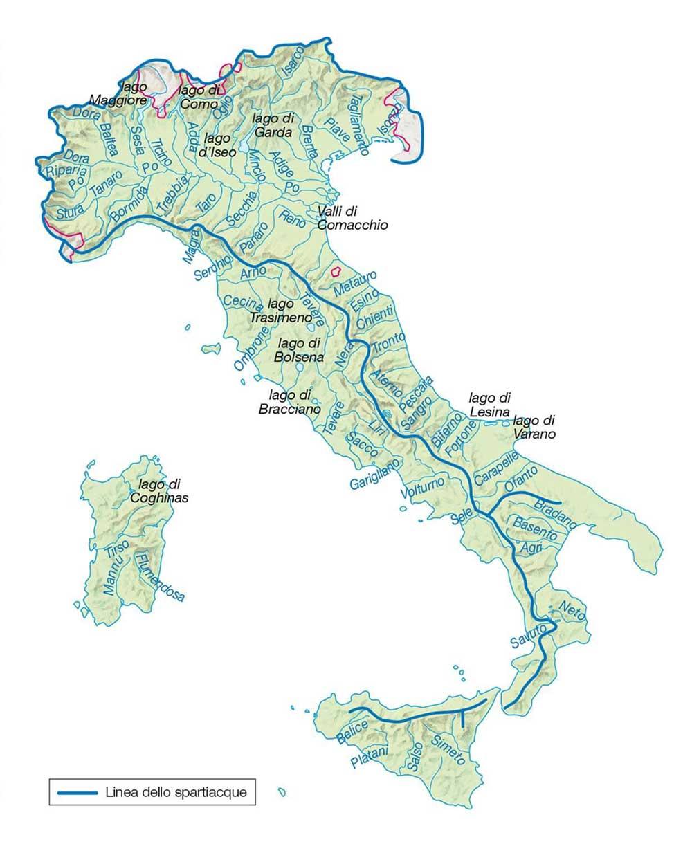 Cartina Lombardia Laghi.Cartina Di Italia Scarica Cartina Di Italia In Alta Qualita Dati Da Europa