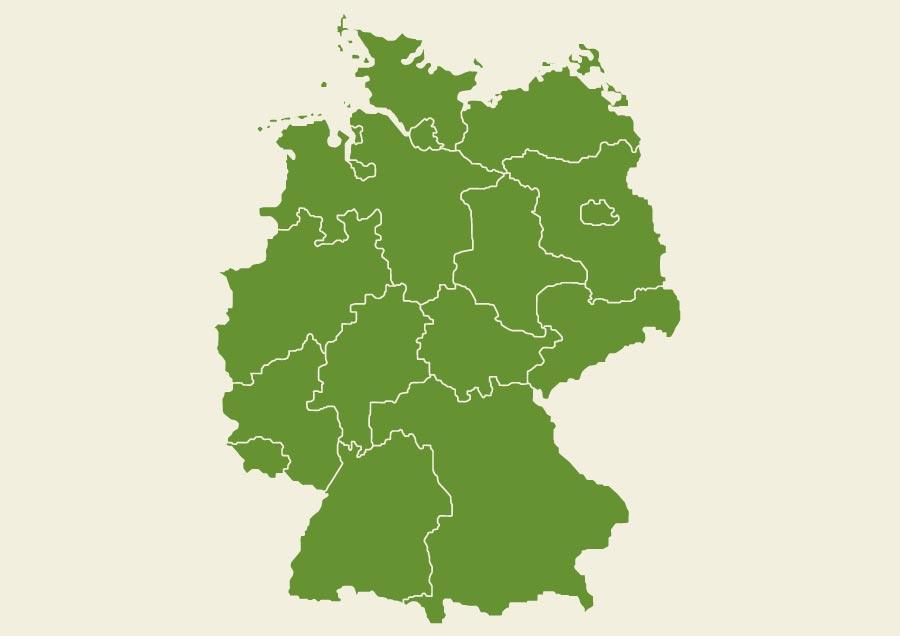 Cartina Fisica Muta Germania.Cartina Della Germania Scarica Cartina Della Germania In Alta Qualita Dati Da Europa