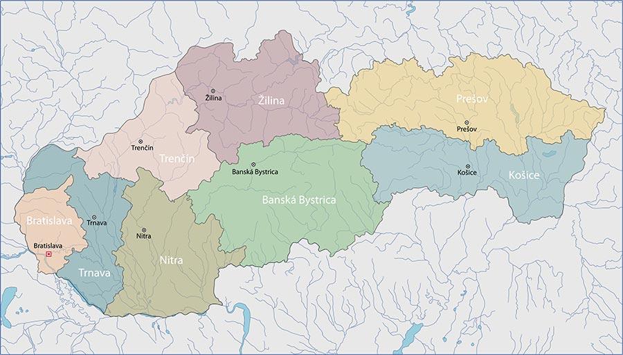 La Cartina Geografica Della Svizzera.Cartine Della Slovacchia Scarica Cartina Della Slovacchia In Alta Qualita Dati Da Europa