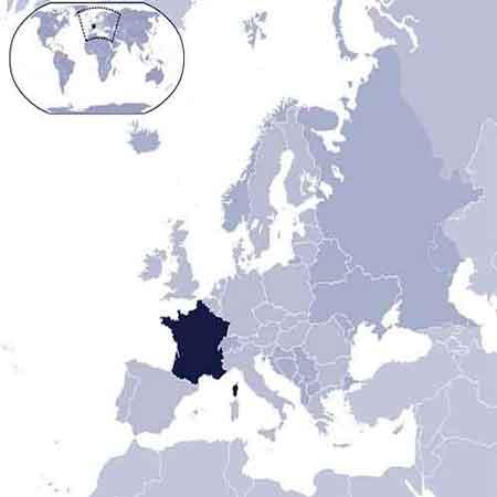 Regioni Francia Cartina.Francia Informazioni Di Francia Dati Da Europa