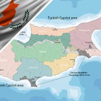 Cartina Cipro