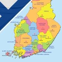 Cartina Finlandia