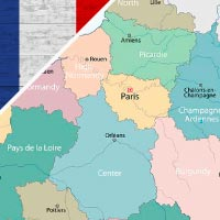 Cartina Francia