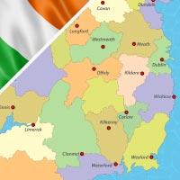 Cartina Irlanda