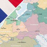Cartina Paesi Bassi