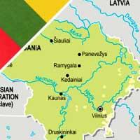 Fiumi della Lituania