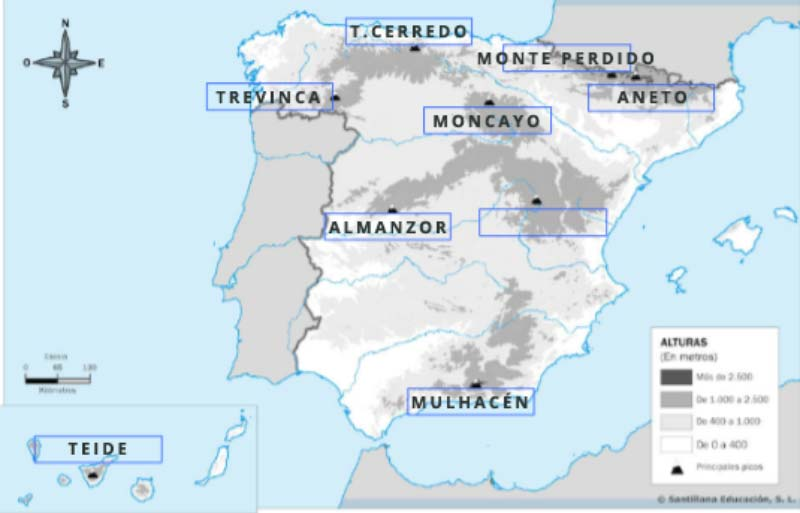 Cartina Della Spagna Geografica.Cartina Della Spagna Scarica Cartina Della Spagna In Alta Qualita Dati Da Europa