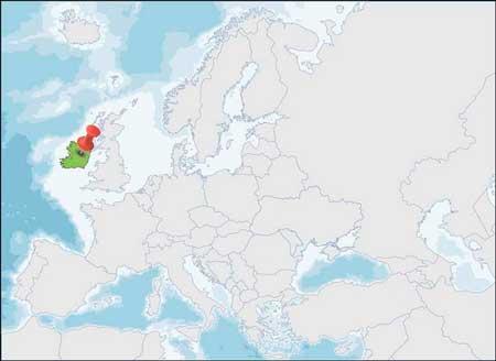 Cartina Politica Dell Irlanda.Irlanda Informazioni Dell Irlanda Dati Da Europa