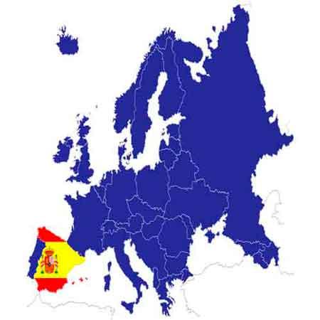 Portogallo Spagna Cartina.Cartina Francia Spagna Portogallo